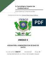 UNIDAD 5 SEGURIDAD || BASE DE DATOS