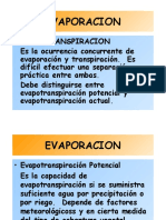 Evapotranspiración UC