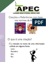 Aula 4 - Citações e Referências Com Base Nas Normas Da