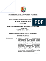 0. Perda RTRW Fakfak 2011-2031