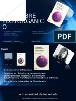 Paula Sibilia- Hombre Postorganico