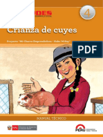 Crianza de Cuyes Cartilla Foncodes
