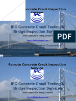 IPC Concrete Crack Testing Service (NDT|NDE)