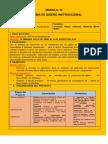Modulo III Esquema Del Diseño Instruccional