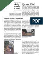 Berkeley Partners for Parks Newsletter, November 2006