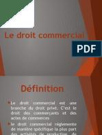 Le Droit Commercial [Enregistrement Automatique]