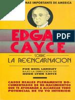 Cayce, Edgar - Sobre La Reencarnación