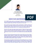 Biodata Tun Mahdhir Dan Najib