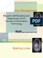 MELJUN CORTES - Operations Management 18th Lecture (DISNEY WORLD)