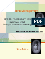 MELJUN CORTES - Operations Management 18th-18-a Lecture (SIMULATION)