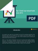Best Small Cap Mutual Funds June 2016