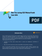 Best tax saving ELSS mutual fund in india
