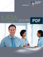 2010 MBA Program Guide