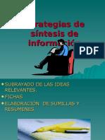 Estrategias de Sintesis de Informacion