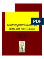 Workshop Rs Cardiac Resynchronisation Therapy Update Aha 2015 Guidelines