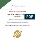 Passleader 400-101 Practice Questions
