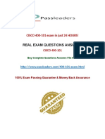 exam 400-101 Practice Questions