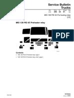 284-24 MID 128 PID 45 Pre-heating Relay