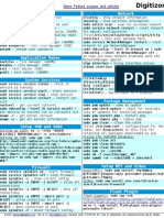 Fedora 12 Cheat Sheet