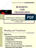 Kuliah Bleeding and Transfusion 2010