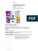 REALIZANDO FOLLETOS EN PUBLISHER