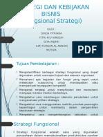 Strategi Dan Kebijakan Bisnis