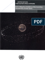 Space Debris Mitigation Guidelines from COPUOS