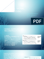 Digital Signal Processing PPT on simulink
