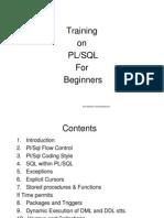 Plsql for Beginners