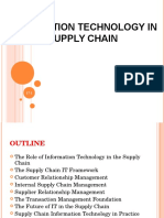 Information Technology in Supply Chain13