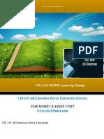 CIS 115 TUTOR Learn by Doing/cis115tutor.com