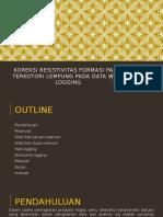 Pengaruh Resistivitas Lapisan Produktif Terhadap Perkiraan Parameter Petrofisika