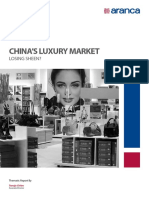 China's Luxury Market — Losing Sheen?