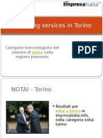 Searching Services in Torino