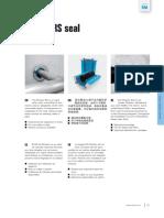 Roxtec RS100 AISI 316 Datasheet & Installation Manual