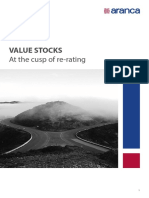 Value Stocks - At the Cusp of Re-rating