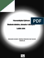 Humanistyka cyfrowa. Badanie tekstów, obrazów i dźwięku
