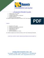 01 - Documentos Entrada Locação