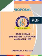 PROPOSAL Alumni Smp 1 Kalinget