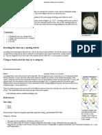Analog Watch - Wikipedia, The Free Encyclopedia