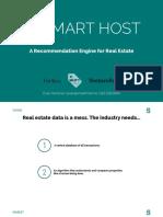 Smart Host Investor Deck - Exploratory 3