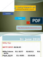 Equity Research Lab 3 June Nifty Report