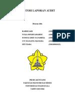 Contoh Laporan Audit ( Kelompok 8)