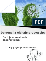 Demencija Alchajmerovog Tipa