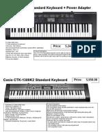 Piano report