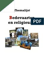 Themalijst bedevaarten en religieuzen