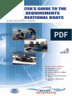 Guardia Costara EEUU Implementos de Seguridad en Embarcaciones