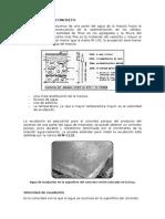 Exudación Del Concreto - Elasticidad Del Concreto