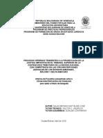 informe de pasantias UBV -estudios juridicos