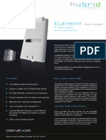 Datasheet Element Point to Point